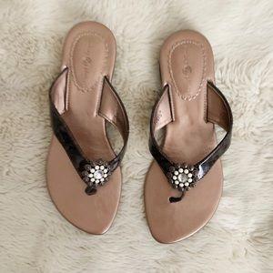 Bronze Lindsay Phillips sandals